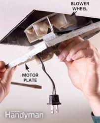 Nutone 8663rp Bath Fan Replacement Motor by How To Repair A Bathroom Fan Family Handyman