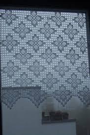 gardine handarbeit häkeln 76 breit 81 hoch