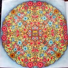 Coloring Books Mandala Butterfly Secret Garden Johanna Basford