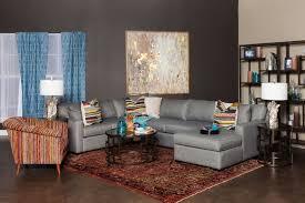 jonathan louis tyler ii three piece gray sectional sofa mathis