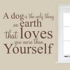 Dog Wall Art Stickers Within Sayings Image 10 Of 20