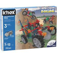 4WD Demolition Truck Building Set - K'Nex - Toys