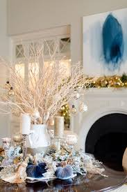 Frontgate Christmas Trees Decorated by Blue Christmas Decorating Ideas A Tour Of Our Home