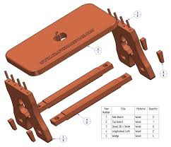 rustic stool plan