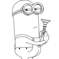 Minion Phil The Coloring Page
