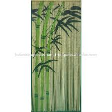 Bamboo Beaded Door Curtains Painted by Bamboo Beaded Painted Door Curtain Bamboo Beaded Painted Door