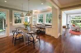 Dining Room Corner Turned Into Smart Home Office Design Emerick Architects