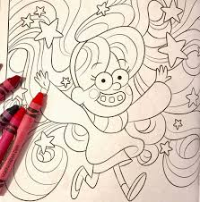 Dont Color This Book Is Out Today If You Like Gravity Falls Coloring And Hallucinations NEED