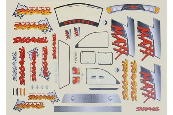 Traxxas Tra4913 Decal Sheet T-Maxx