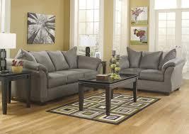 Living Room Darcy Cobblestone Sofa LoveseatSignature Design By Ashley
