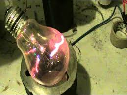 high voltage light bulb