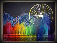 World Of Color Crayon Art By Silly Hammy