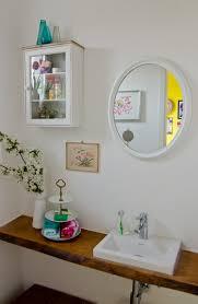 dekoideen für das gäste wc im vintage und shabby chic look