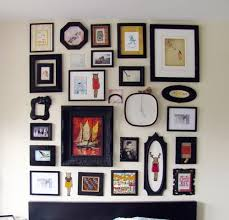 Picture Frame Wall Art Ideas Ingenious Inspiration Cheap Set Black Bicycle Arch