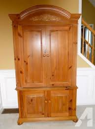 Broyhill Fontana Dresser Measurements by Broyhill Armoire Entertainment Cabinet Victor Ny For Sale