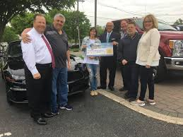 100 Flemington Car And Truck Country Lions Raffle Winner Drives Away In 2018 Ford Mustang Somerville