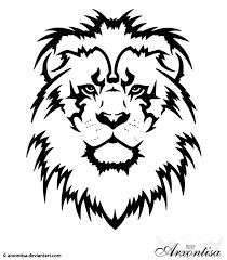 Lion Tattoo Design Lioness Tribal