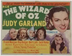 The Wizard Of Oz Movie Poster 1939