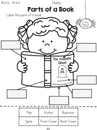 Halloween Picture Books For Third Graders by Halloween Kindergarten Language Arts Worksheets Halloween Themes