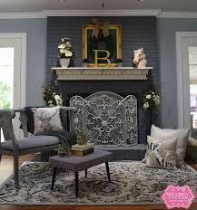 Paint Colors Living Room Red Brick Fireplace best 25 painted fireplace mantels ideas on pinterest paint