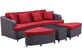 Modern Patio And Furniture Medium Size Sofa Bed Monterey Piece Outdoor Set Contemporary
