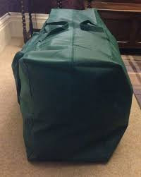 Green Artificial Christmas Tree Storage Bag