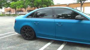 Plasti Dip S4 Custom Blue Color DipYourCar Pro Car Kit