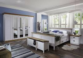 schlafzimmer landhausstil weiß gelaugt komplettset 100