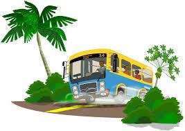 Cute Bus Clipart 3