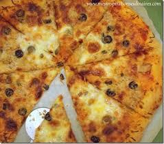 pizza rapide et facile à la pâte magique 10 min عجين العشر دقائق