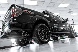 100 Truck Wheels And Tire Packages FUEL D534 BOOST 1PC Black With Milled Accents Rims