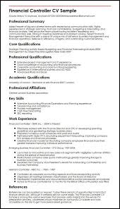 Curriculum Vitae Sample Accountant