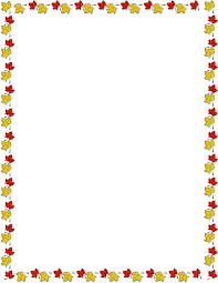 Fall Frame Border PNG Clipart Image · Thanksgiving · Kaders
