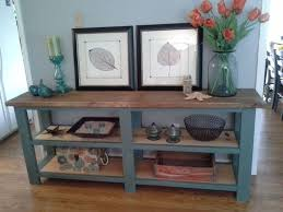 ana white rustic x console diy projects pertaining to rustic