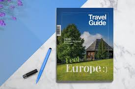 Travel Guide Brochure Templates Creative Market
