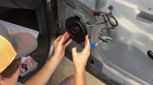 How To Change Front Door Speakers In 2006 Chevy Silverado - Without ...