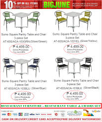 RESTAURANT FURNITURE SALE @LAZADA-JUNE PROMO! TAKE 10% OFF ... Van Der Rohe Barcelona Chair And Ottoman Italiadesigns Luxury Discount Armchairs Design Ideas 75 In Adams Office For Your Ding Room Chairs Seagrass Hans J Wegner Ch24 Ychair Cushion Ding Things In Room Full Size Of Sets Office Fniture Sale Lazadas Super September Promo Save Up To Fniture Elegant Bobbin For Classic Armchair Bedroom Attractive Cheap Accent Make Awesome Your Home Cool Sale 47 Noahs Condo Impressive Ikea Living Best World Collections Avington Target Slipper Colorful Armless Fabric Chicago