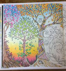 The Third Tree Did End Up With Green Foliage As I Felt Was Now Needed In Picture For Large Choose Four Colours Tan