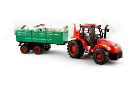 100 Toy Farm Trucks KidzFan Er Friction Tractor Trolley For Kids Heavy Duty