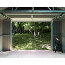 Arrow Shed Door Assembly by Vinyl Murryhill 12 X 10 Ft Storage Building Steel Sheds Arrow