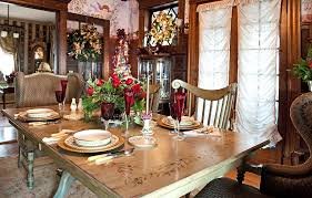 Beautiful Centerpieces For Dining Room Table by Top 40 Dining Hall Decorations For Christmas Christmas Celebrations