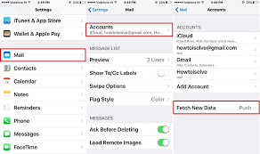 Change iPhone Mail App Fetch Time for New Mail Data Change Fetch
