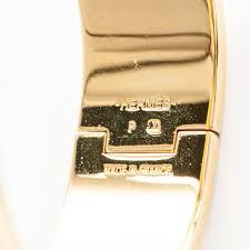 hermes h clic clac hermes enamel wide clic clac h bracelet pm blanc white 176261