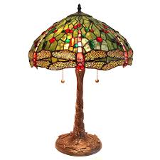 Tiffany Style Lamps Canada by Green Dragonfly Lamp