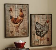 Blue Rooster Kitchen Decor Black
