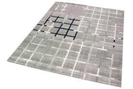 designer und moderner teppich wohnzimmer in grau lila blau türkis