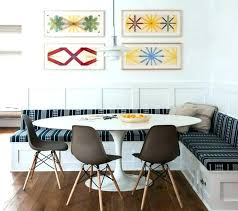 Dining Room Booth Table In Seating Restaurant Banquette Round Design Set