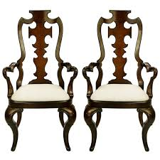 Pair Of Thomasville Armchairs - High Back Carved Style ... Carved Mahogany High Back Ding Side Chairs Collectors Weekly Arm Chair Kiefer And Upholstered Rest From Followbeacon Antique Vintage Set Of 6 Edwardian Oak French Style Fabric Solid Wood Wooden Buy Chairupholstered Chairssolid Beautiful Of Eight Quality Victorian 19th Century Renaissance Throne Four Antiquue Early 20th Art Deco Classical Chinese Fniture A Collecting Guide Christies Pdf 134