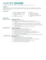 Residential Electrician Resume Journeyman Examples