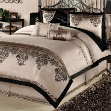 Bone Collector Bedding by Bedroom Perfect Solid Black Bedding Set Featuring White Bedside